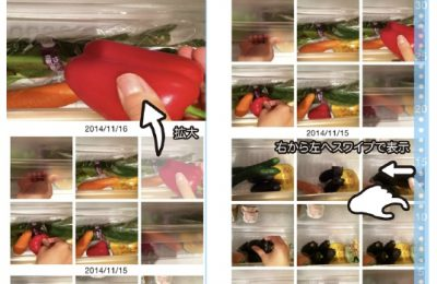 冷蔵庫内の画像を用いた食材管理アプリeconcie