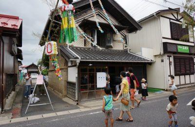 メディアアート展示@大和町まほろば七夕祭り