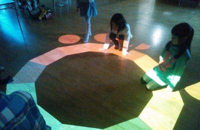 子どもの感受性を豊かにするインタラクティブアート