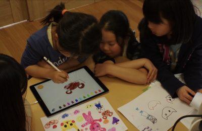 子どもの自由な発想を活かす遊び「発想おえかき」