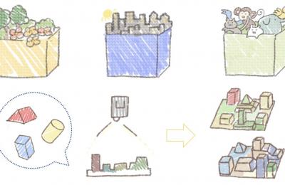 知育効果を高めるための箱型立体絵本