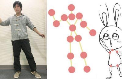 絵モーション:手描きのキャラクタを自在に動かすツール